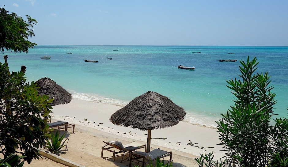 Strand in Jambiani