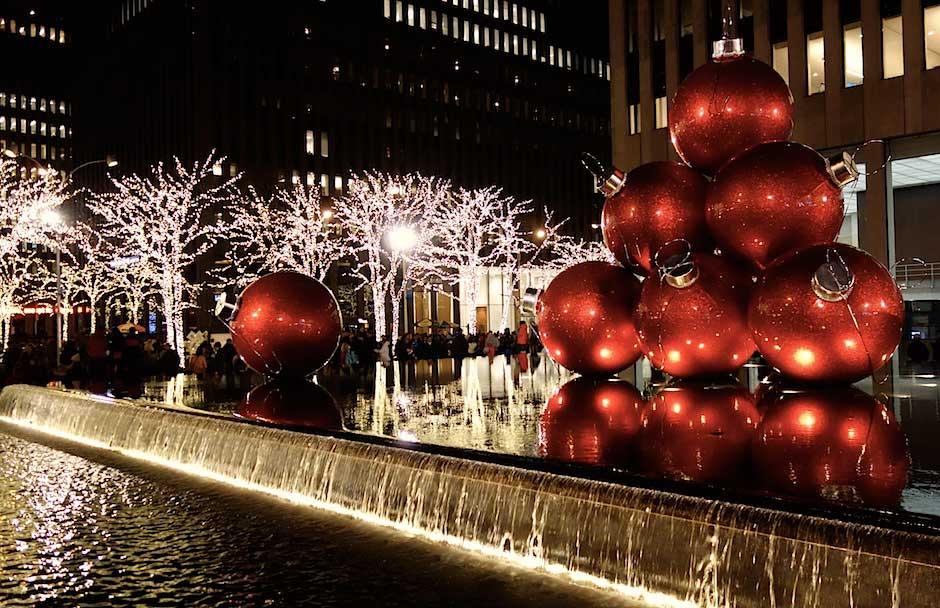Weihnachtszeit in New York City