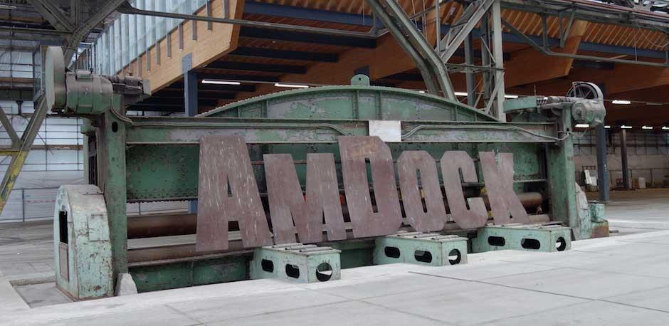 AMDOCK in der NDSM Werft