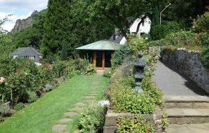 Pavillon im Garten des Adenauer-Hauses