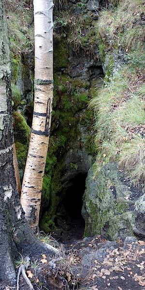 Lavahöhle Grotta dei Ladroni