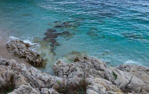 Steinstrand auf Sizlien - Lo Zingaro